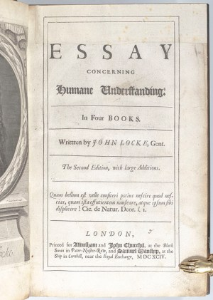 An Essay Concerning Humane Understanding: In Four Books.
