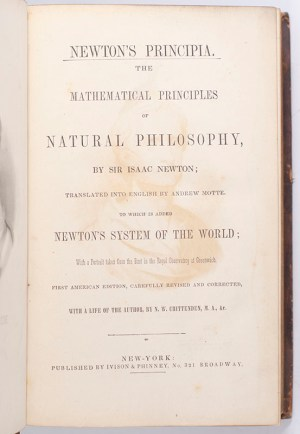 Newton's Principia. The Mathematical Principles of Natural Philosophy.