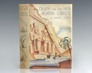 Rare first edition of Agatha Christie's Death on the Nile