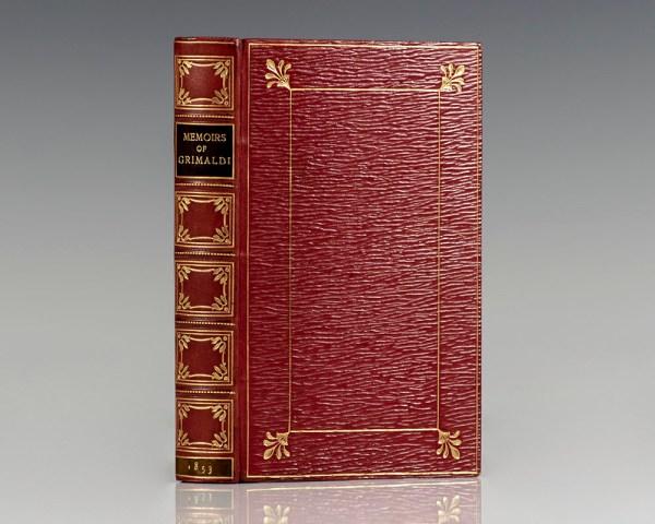 "Memoirs of Joseph Grimaldi. Edited by ""Boz."""