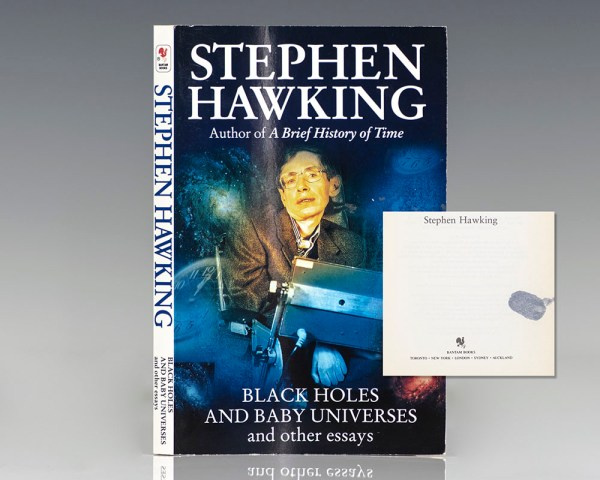 Black Holes and Baby Universes and Other Essays.