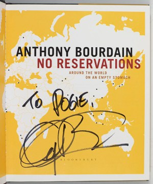 No Reservations: Around the World on an Empty Stomach.