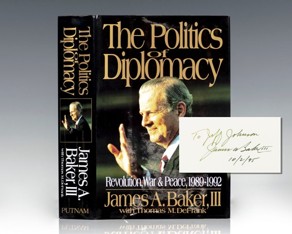 The Power of Diplomacy: Revolution, War and Peace, 1989-1992.