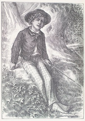 The Adventures of Tom Sawyer. [Fore-edge Painting].