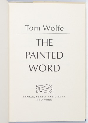 The Painted Word.