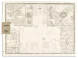Atlas de Esapana y Susus Posesiones de Ultramar: Isla de Cuba Por El Teniente Coronel Captain de Ingenieros D. Francisco Coello. [Atlas of Spain and its Overseas Possessions].
