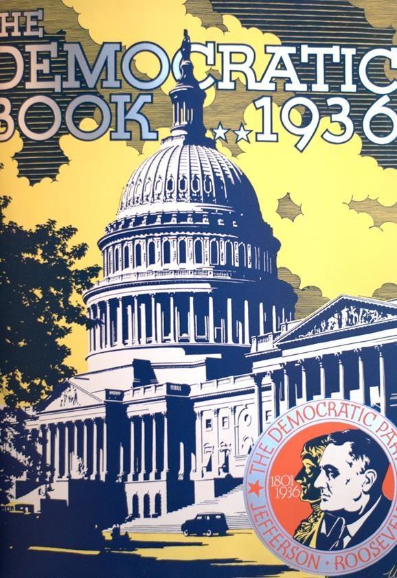 The Democratic Book 1936.