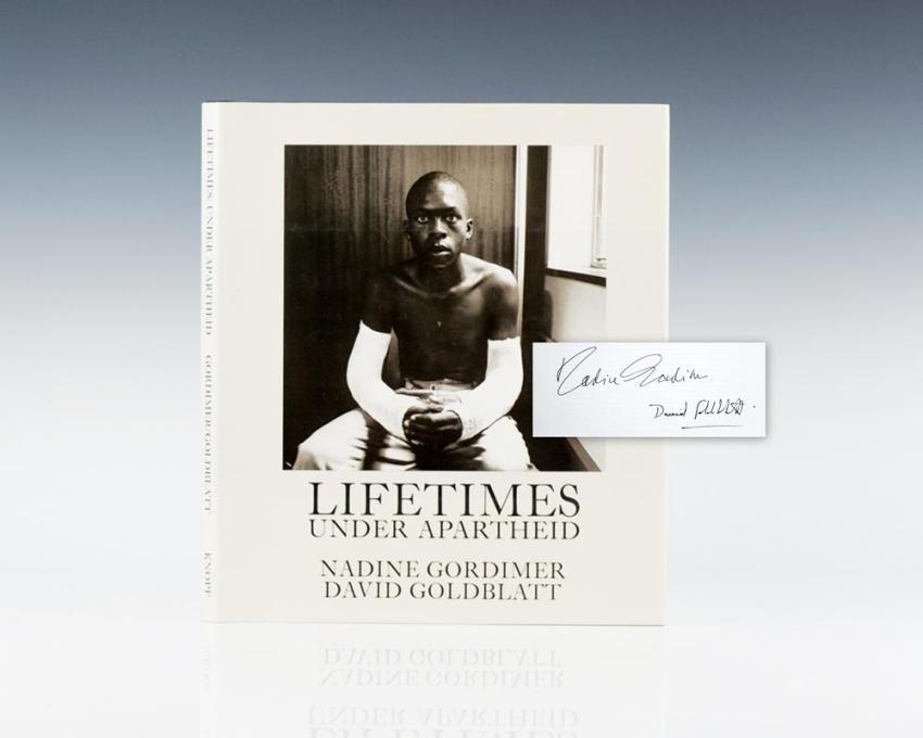 Lifetimes Under Apartheid.