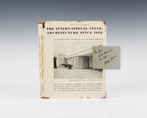 The International Style: Architecture Since 1922.