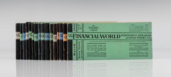 The Financial World: Independent Appraisals of Listed Stocks.