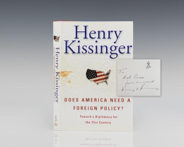 Does America Need A Foreign Policy?: Toward a Diplomacy for the 21st Century.