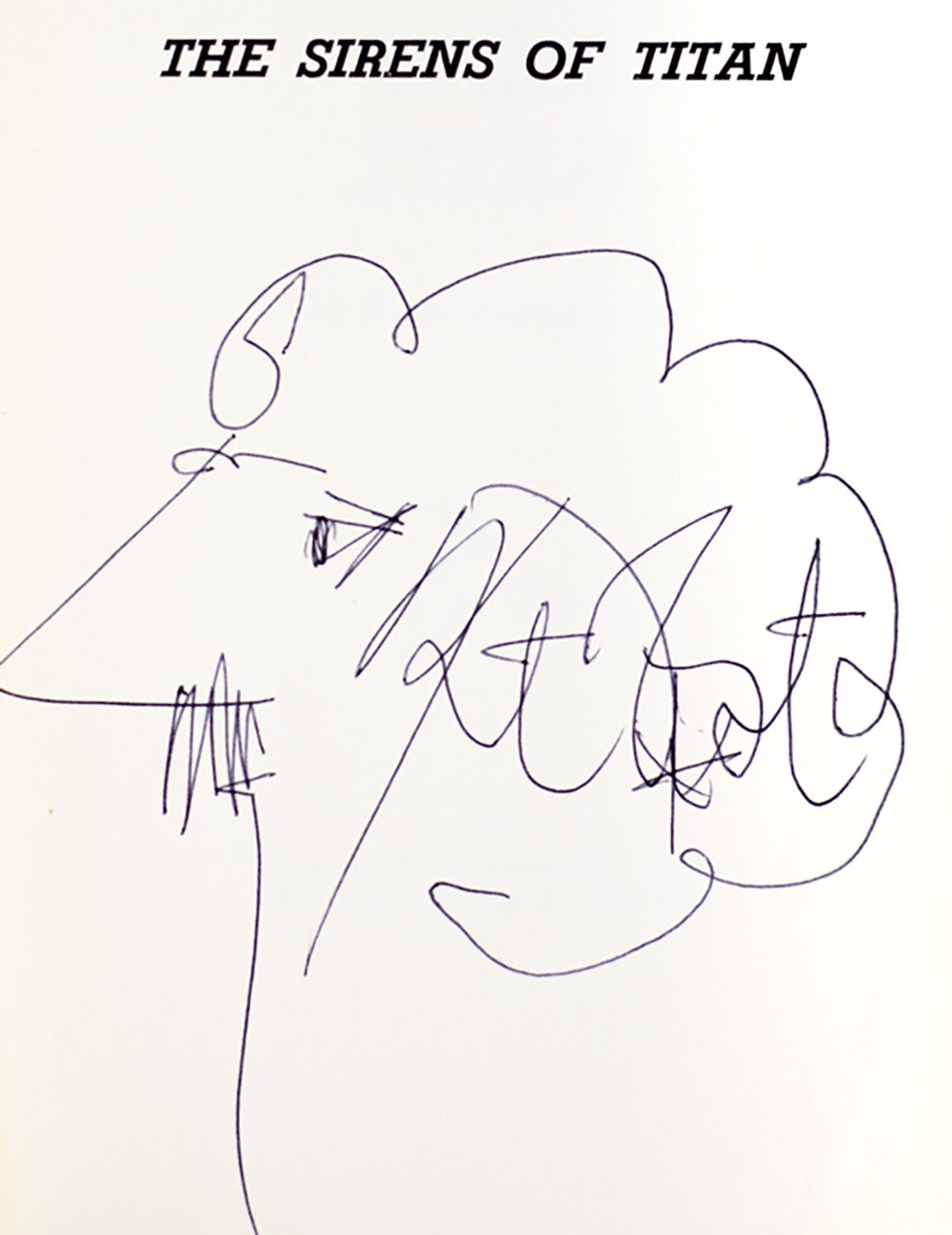Sirens of Titans Kurt Vonnegut First Edition Signed Rare Book