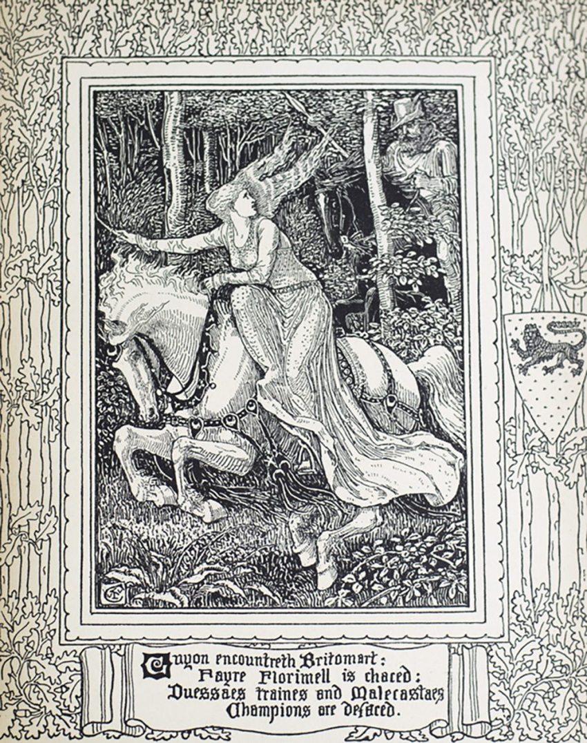 The Faerie Queene: A Poem in Six Books.