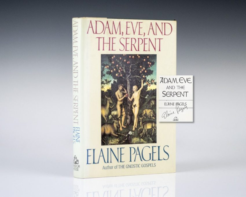Adam, Eve, and the Serpent.