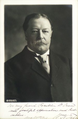 President William Howard Taft Signed Photograph.