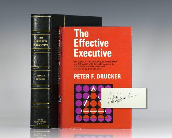 The Effective Executive.