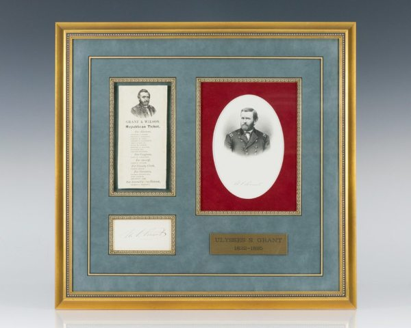 Ulysses S. Grant Autograph.