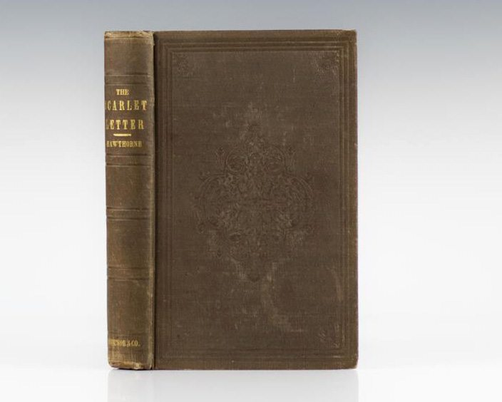 The Scarlet Letter Nathaniel Hawthorne First Edition Rare Book
