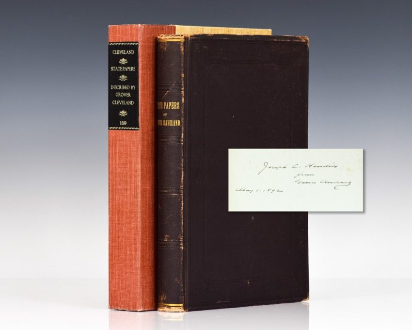 The Public Papers of Grover Cleveland, Twenty-Second President of the United States.