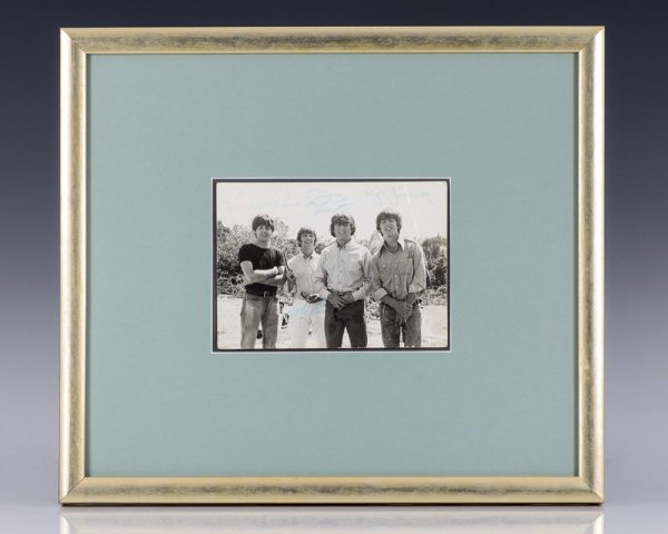 The Beatles Signed Photograph.