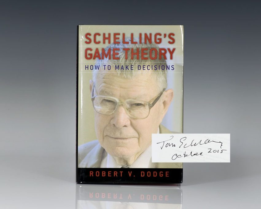 Schelling's Game Theory: How to Make Decisions.