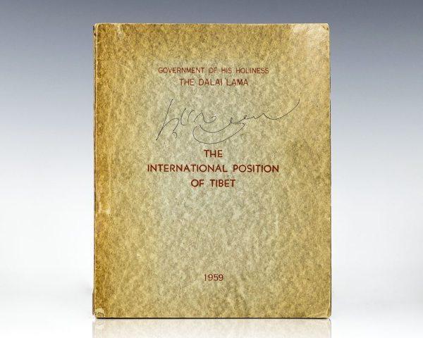 The International Position on Tibet.