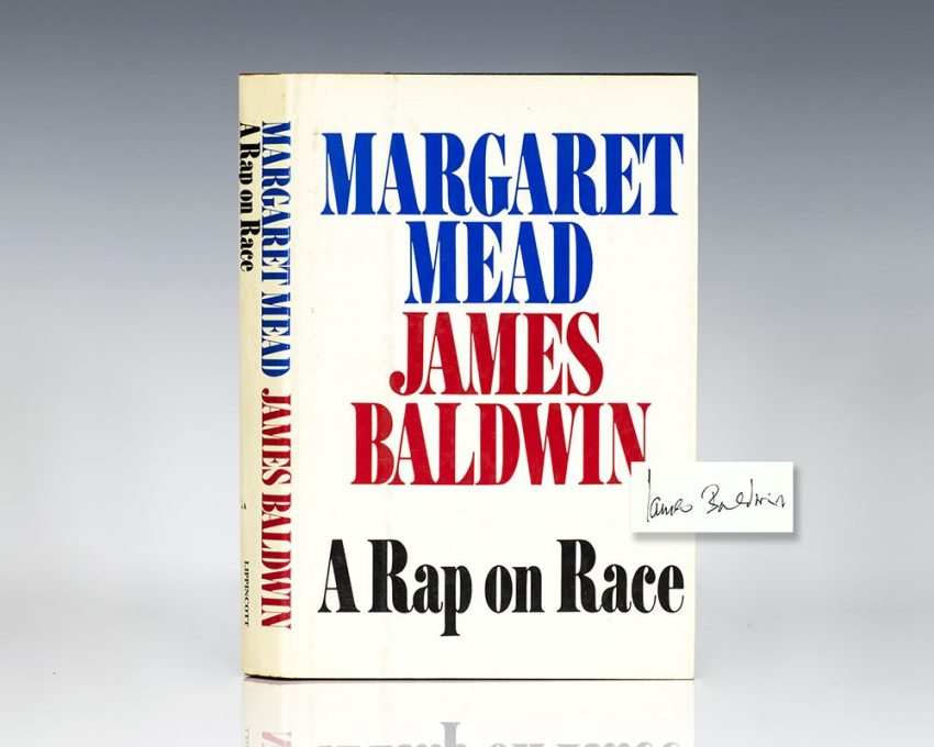 First Edition of A Rap on Race; Signed by James Baldwin