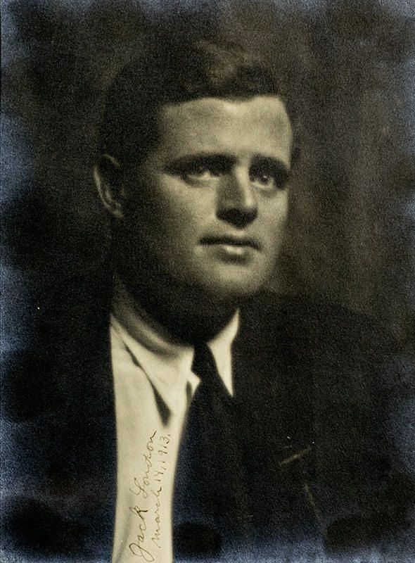 jack london signed photograph