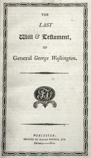 George Washington: Sermons & Orations.