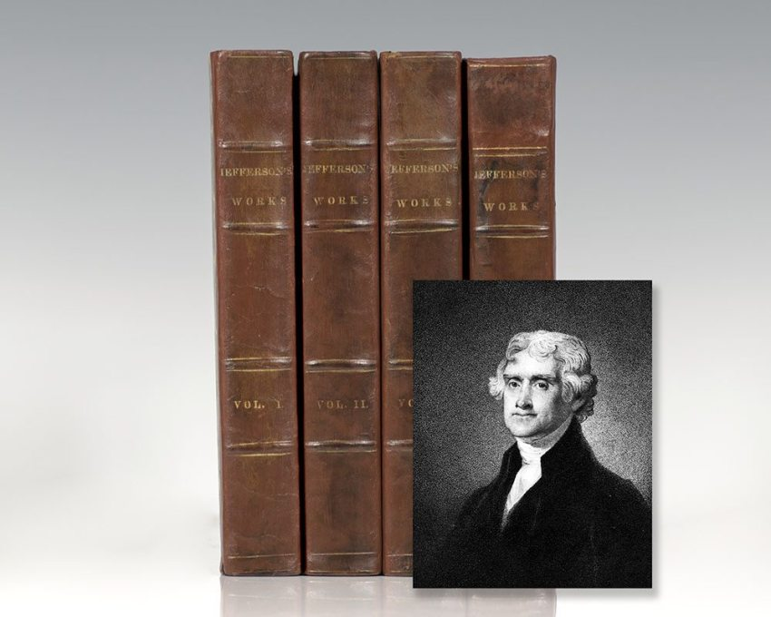 Memoir, Correspondence, and Miscellanies, from the Papers of Thomas Jefferson. Edited by Thomas Jefferson Randolph