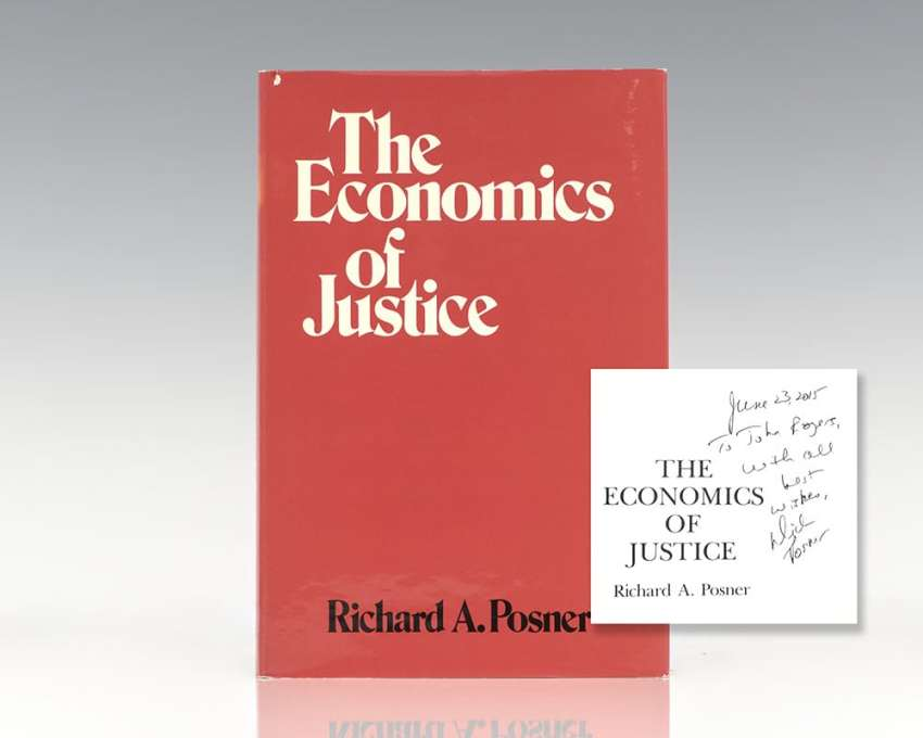 The Economics of Justice.