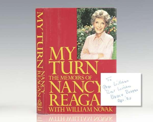 My Turn: The Memoirs of Nancy Reagan.