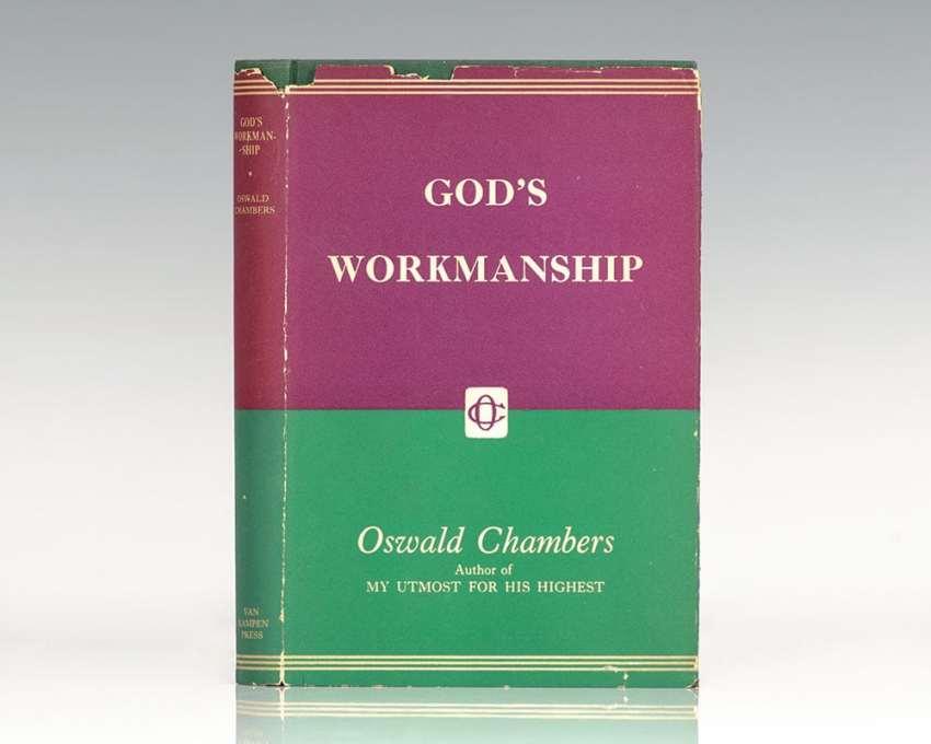 God's Workmanship.