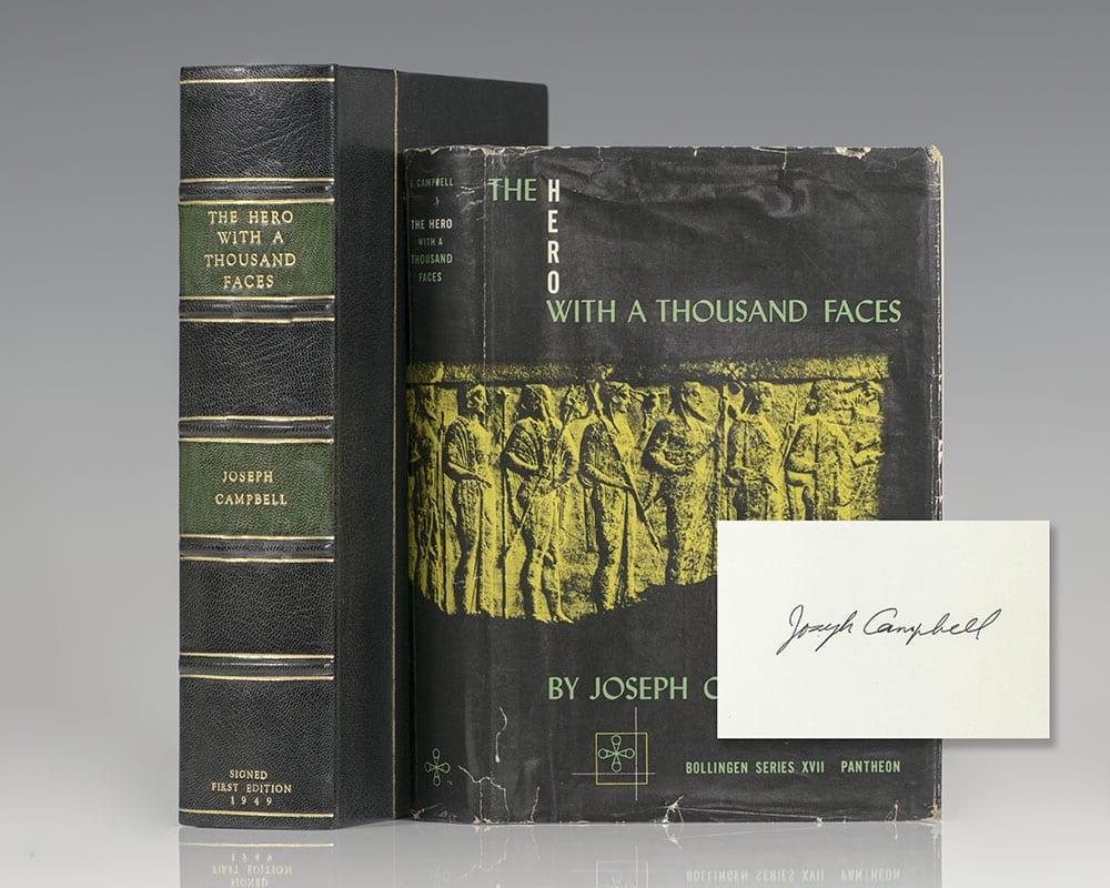 Hero With A Thousand Faces Joseph Campbell First Edition Signed