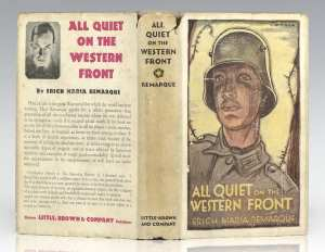 All Quiet on the Western Front Erich Remarque First Edition Rare