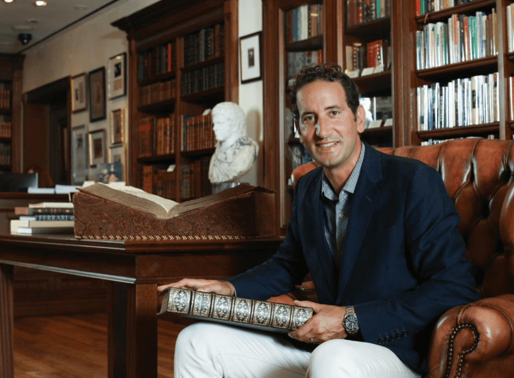 In the News: Matthew Raptis and Antiquarian Books.