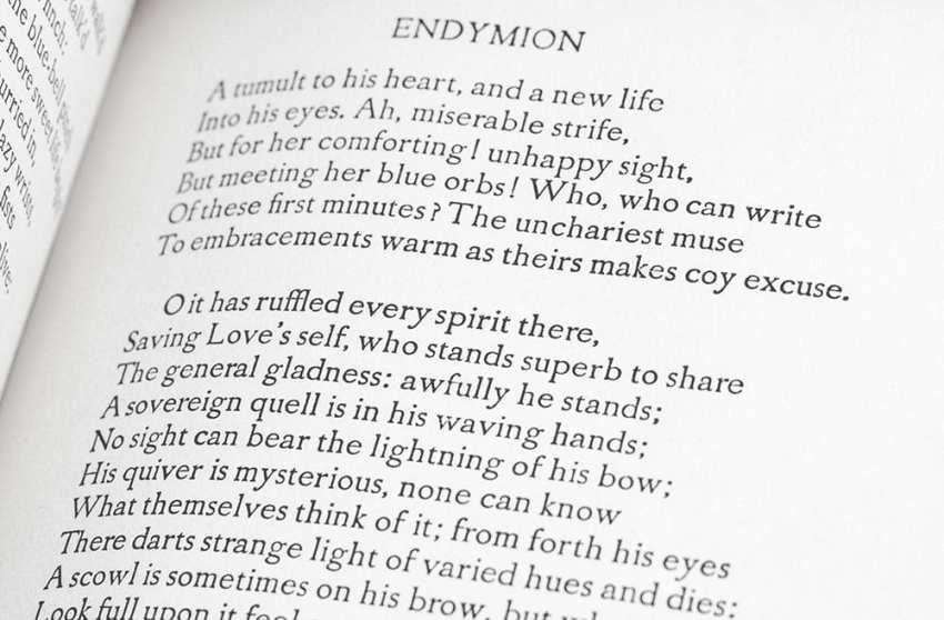 The Poems of John Keats.