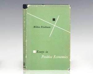 Essays in Positive Economics.