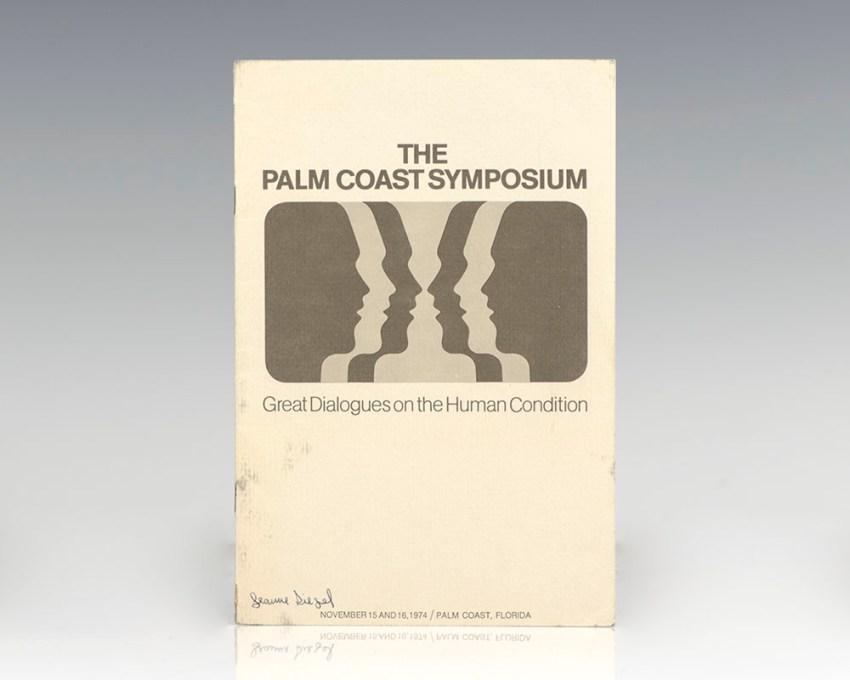 The Palm Coast Symposium: Great Dialogues on the Human Condition.