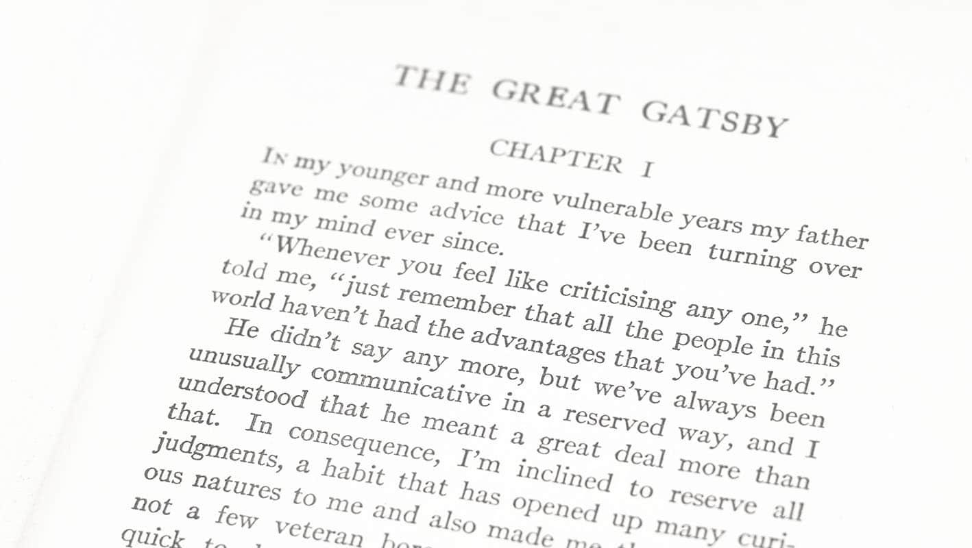 The Great Gatsby F. Scott Fitzgerald First Edition Rare