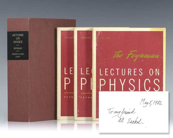 The Feynman Lectures On Physics.