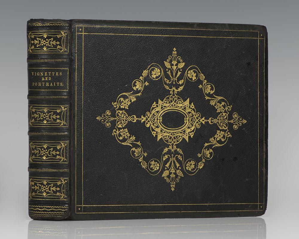 United States Treasury Department Vignette and Portrait Presentation Album.United States Treasury Department Vignette and Portrait Presentation Album.