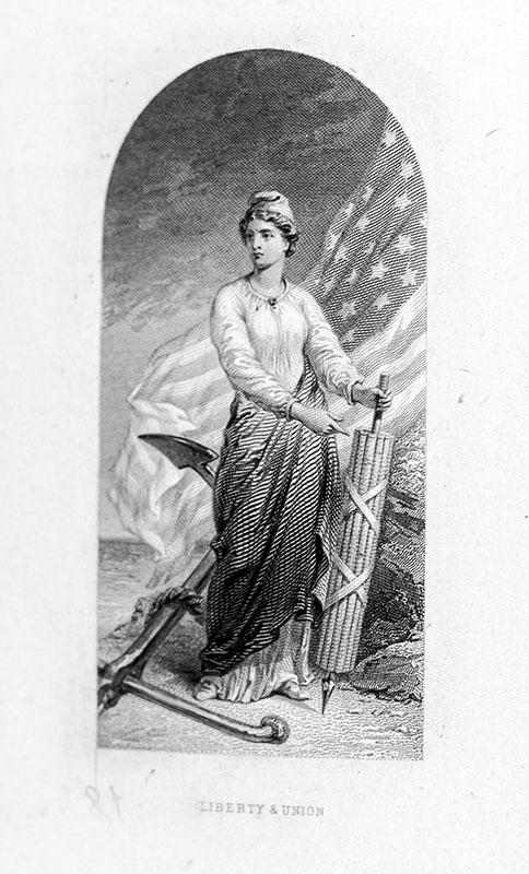 United States Treasury Department Vignette and Portrait Presentation Album.