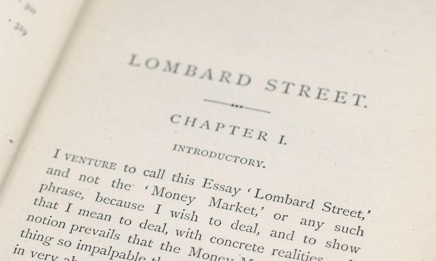 Lombard Street: A Description of the Money Market.