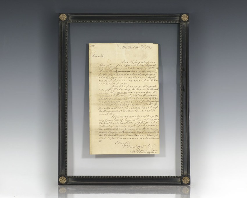 George Washington Autograph Letter Signed.