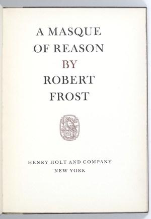 A Masque of Reason.