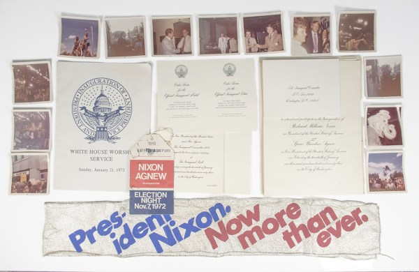 Richard M. Nixon Second Presidential Inauguration Photograph and Document Collection.