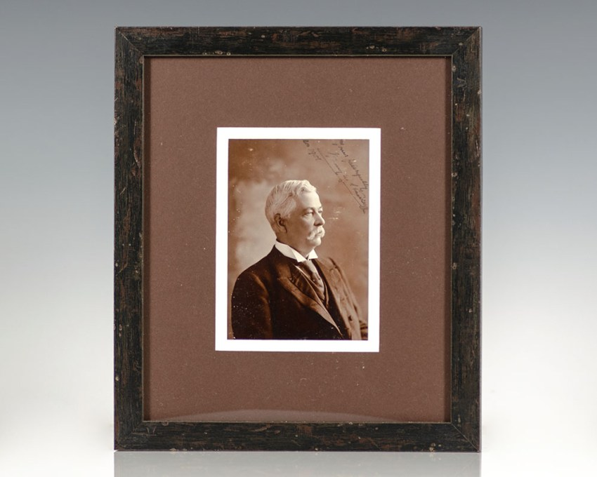 Henry M. Stanley Photograph Signed.