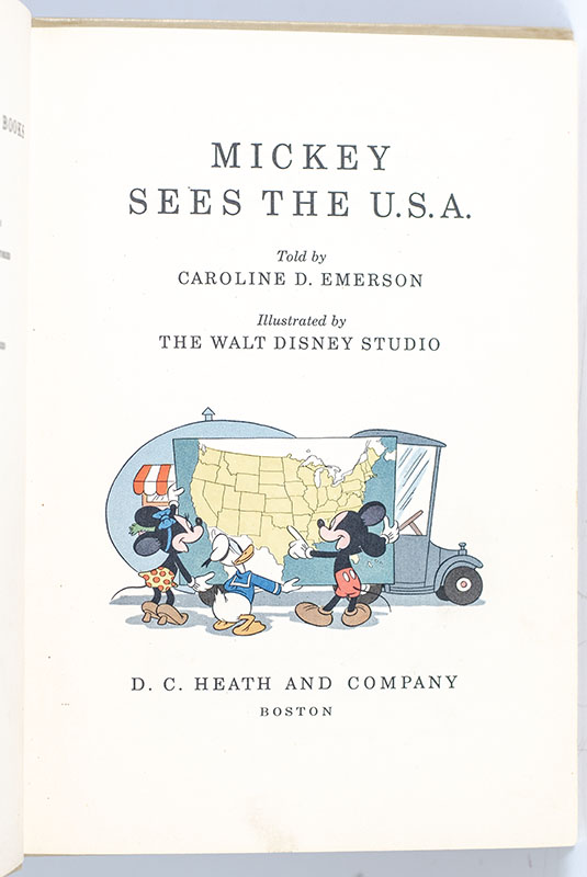 Mickey Sees the U.S.A.