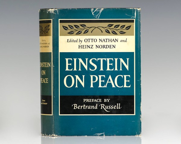 Einstein On Peace.